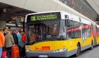 Otobüste maskesiz seyahate Almanya'da 8 bin 500 euro ceza