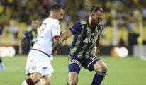 Fenerbahçe-Cagliari maçında 4 gol vardı