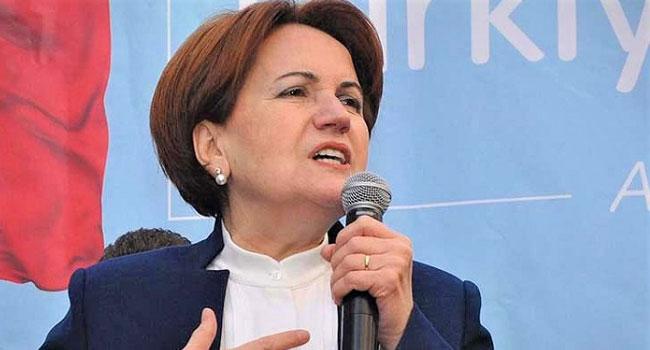 Akşener'den ilginç çıkış: Yeni partiler ödünç milletvekili isterse 'evet' derim