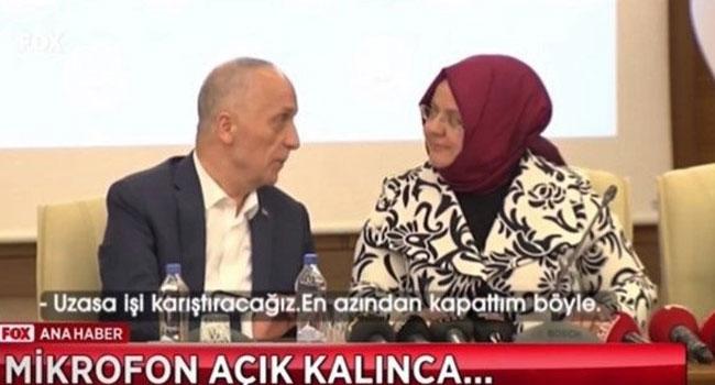 Türk-İş Başkanı battıkça battı
