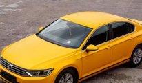 Bütün taksiler Volkswagen marka olacak...