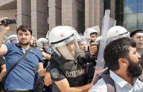 Çağlayan'daki kayyım protestosuna müdahale