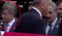 Erdoğan, Davutoğlu'nu görmezden geldi