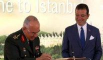 1'inci Ordu Komutanı Avsever'den İmamoğlu'na tebrik ziyareti