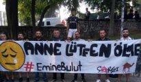 Beşiktaş taraftarından 'Emine Bulut' pankartları