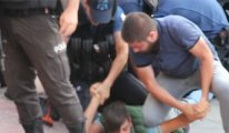 Kayyım protestosunda 12 yaşındaki çocuğa ters kelepçe