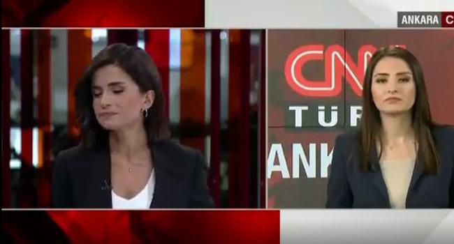 CNN Türk spikeri Semiha Şahin gözyaşlarını tutamadı