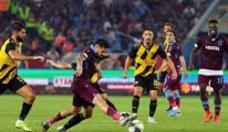 Trabzonspor büyük bir şokun eşiğinden döndü