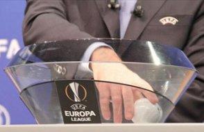 UEFA Avrupa Ligi' ön elemede güçlü rakipler