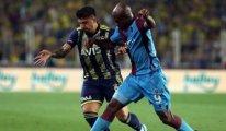 Fenerbahçe - Trabzonspor maçında 2 gol vardı