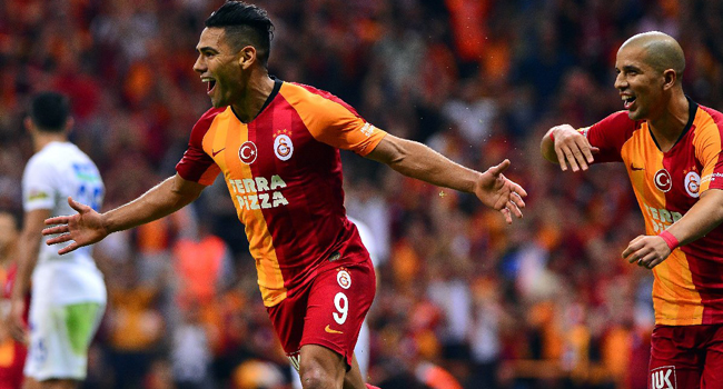 Galatasaray Falcao ile 3 puanı kaptı