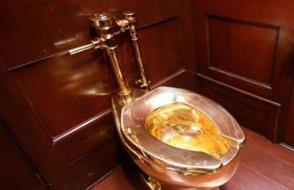 Saraydaki altın klozeti çaldılar