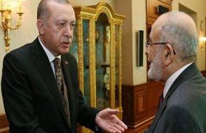 Erdoğan'dan Saadet Partisi'ne ''birleşelim'' teklifi