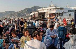 Yunanistan'da sığınmacı sayısında rekor artış