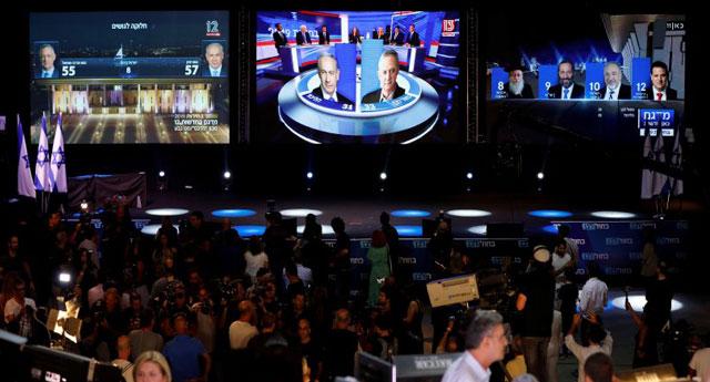 İsrail'deki seçimlerde kesin bir kazanan yok