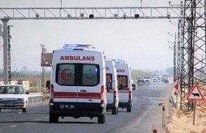 Suriye sınırına ambulans sevkiyatı