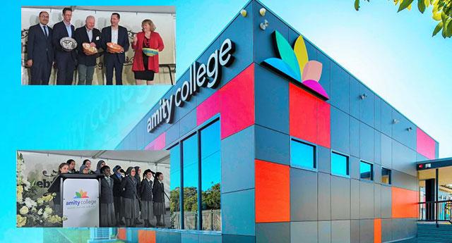 Avustralyalı yöneticilerden övgü dolu sözler: Amity Koleji'ne desteğimiz sürecek