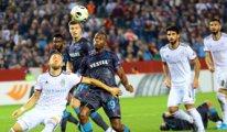 Trabzonspor-Basel maçında 4 gol vardı