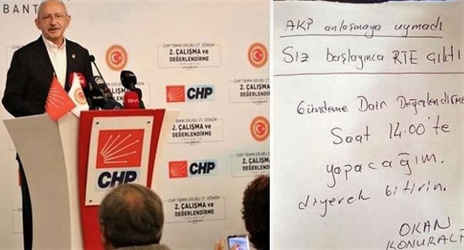 AKP anlaşmaya uymadı!