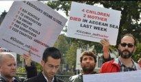 Sürgündeki öğretmenlerden KHK zulmüne karşı eylem