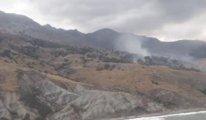 Gökçeada'da 30 hektarlık alan kül oldu