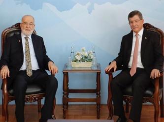 Karamollaoğlu Davutoğlu ile görüştü