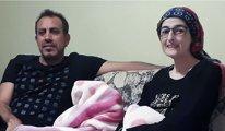Haluk Levent, KHK'lı Fatma Görmez'i ziyaret etti