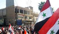 Suriye halkı Türkiye'ye karşı sokaklara döküldü