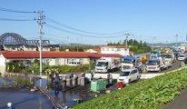 Japonya'da tayfunda ölenlerin sayısı artıyor