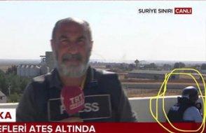 Foyası ortaya çıkan 'action muhabir' kendini savundu: Ama TRT ekibi de...