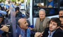 Ankara'da HDP'lilere polis müdahale etti