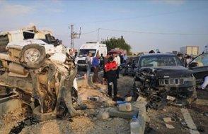 Başsavcı kazada yaralandı