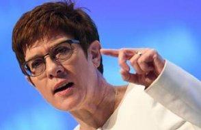 Almanya Savunma Bakanı'ndan Suriye için yeni öneri