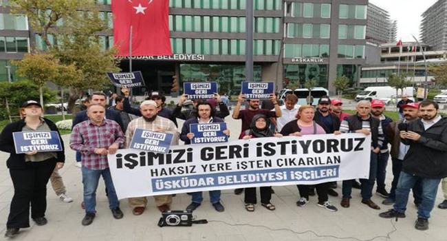 'AKP'nin işlerini bize yaptırdılar'