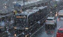 İstanbul için 'kasımda kar' iddiasına cevap geldi
