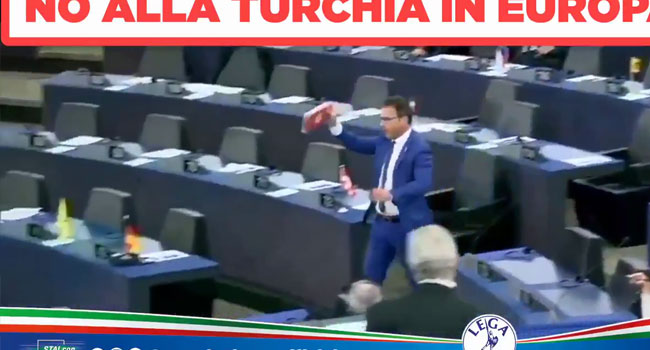 'Avrupa'da Türklere hayır' diyor