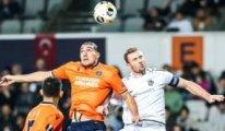 Başakşehir UEFA Avrupa Ligi'nde 3 puanı kaptı