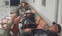 Saat gece 3, bu insanların devlet hastanesinde ne işleri var!