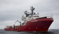 İnsani yardım gemisinden acil yardım çağrısı