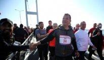 İstanbul Maratonu'nda İmamoğlu'na 'Boğaziçi' sorusu