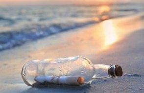 Denize bırakılan mektupta mutlu son!