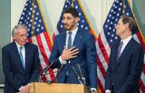 Enes Kanter, ABD Kongresi'nde: Onların sesini duyurma imkânı yok