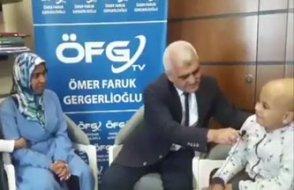Tedavisi pasaport engeline takılan kanserli Ahmet Burhan: Ben Babamı istiyorum