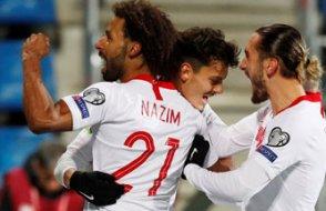Türkiye Milli takımı Andorra'yı 2-0'la rahat yendi