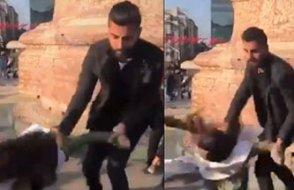 Polis şiddeti Taksim'de!