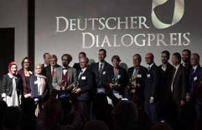 Almanya diyalog ödülleri Frankfurt'ta verildi