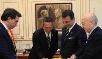 Fenerbahçe Başkanı Koç'tan İmamoğlu'na ziyaret