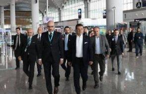 Ekrem İmamoğlu İstanbul Havalimanı'nı ziyaret etti
