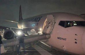 [FLAŞ] THY uçağında faciaya ramak kaldı!