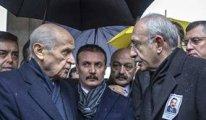 Kılıçdaroğlu, Akşener ve Bahçeli'yi bir araya getiren cenaze
